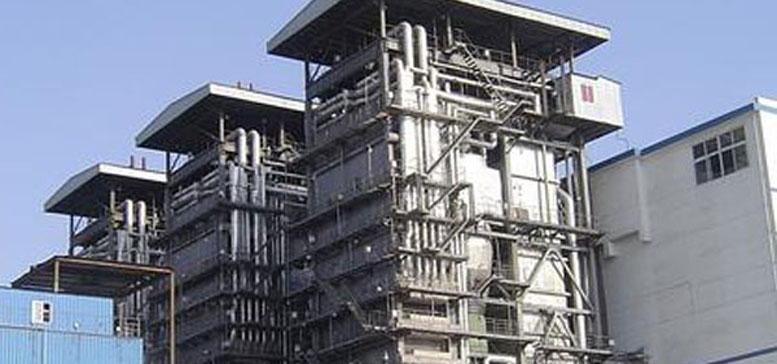 Gas/Oil Fired Power Plant Boiler
