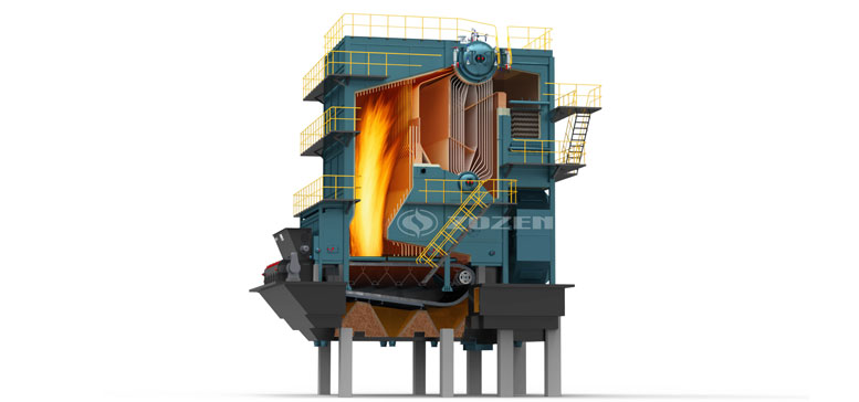 SHL Chain Grate Coal Fired Steam Boiler