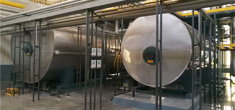 Horizontal Gas/Oil Fired Thermal Fluid Boiler