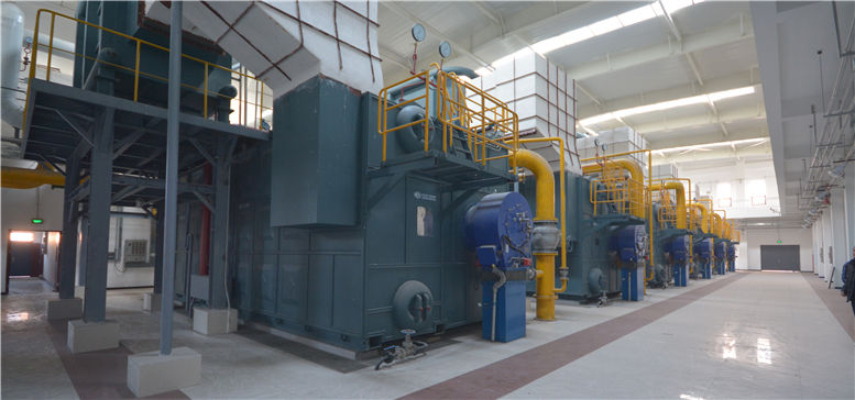 Gas/Oil-fired Water Tube Boiler