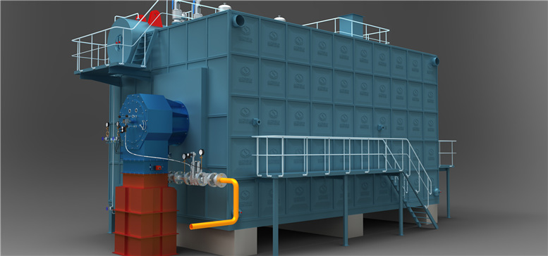 Light Oil Fired Steam Boiler