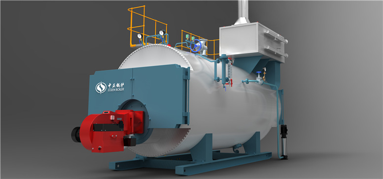 Gas/Oil Fired Fire Tube Boiler